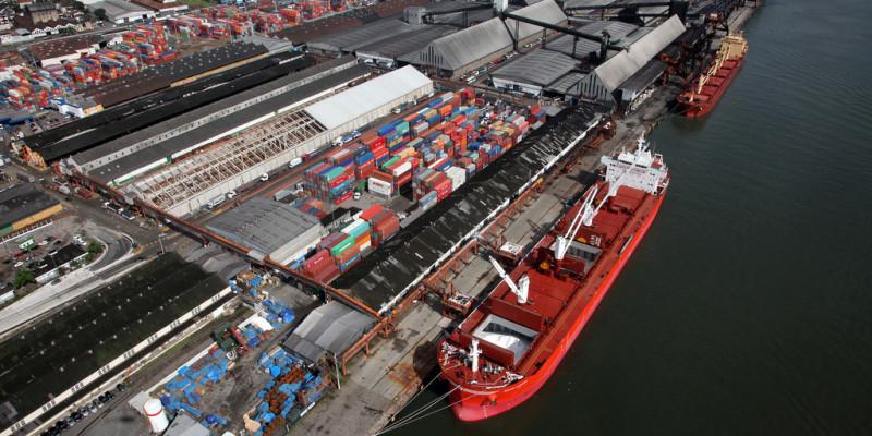 Fotos do Porto de Santos para o banco de imagens do site www.portodesantos.com.br