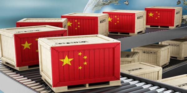 China Cresce no Comex